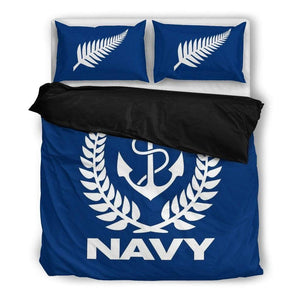 Royal New Zealand Navy Duvet Cover + 2 Pillow Cases