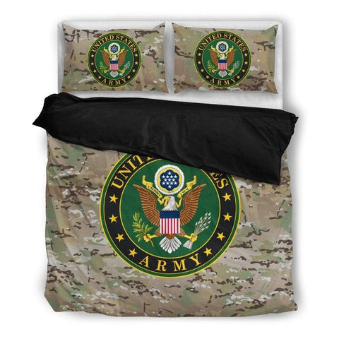 Image of duvet US Army Duvet Cover + 2 Pillow Cases