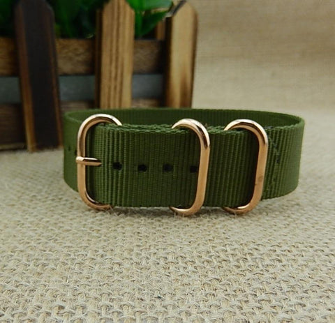 Image of equipment Watchstrap NATO Style - 3 Rings