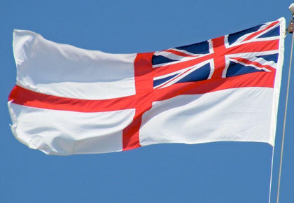 White Ensign Royal Navy Flag