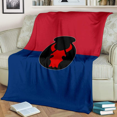 Image of fleece blanket 34th Infantry Division Fleece Throw Blanket