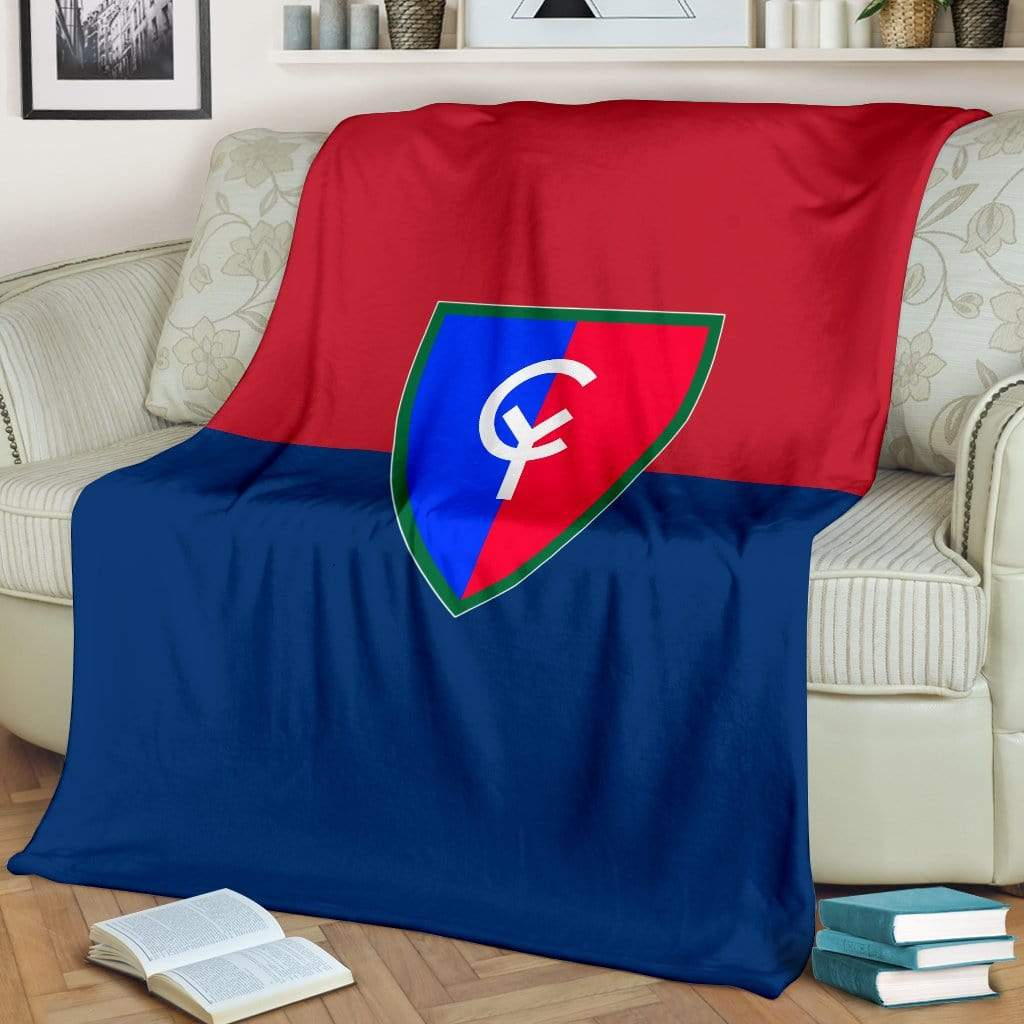 fleece blanket 38th Infantry Division Fleece Throw Blanket