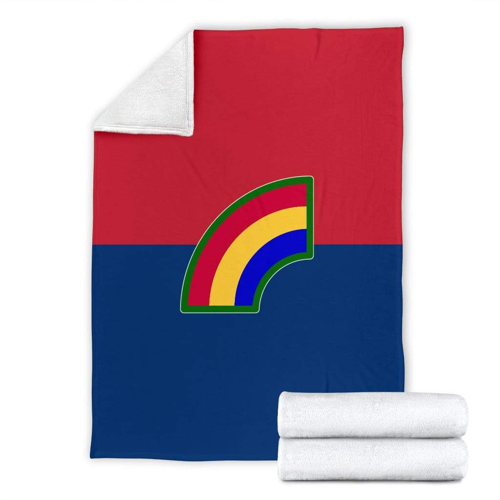 fleece blanket 42nd Infantry Division Fleece Throw Blanket