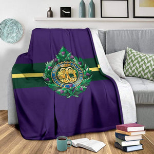 fleece blanket Argyll and Sutherland Highlanders Fleece Blanket