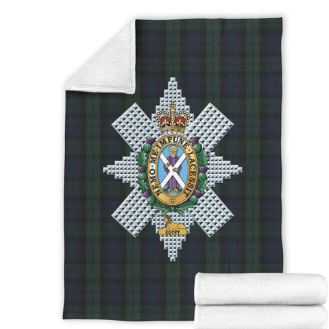 fleece blanket Black Watch Fleece Blanket