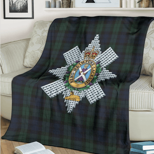 Black Watch Fleece Blanket