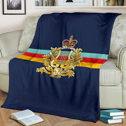 Image of fleece blanket Corps Of Army Music Fleece Blanket