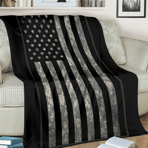 Image of fleece blanket Digicam Fleece Throw Blanket