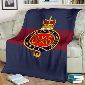 Grenadier Guards Fleece Blanket