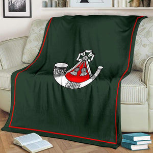 Light Infantry Fleece Blanket (1st Battalion)