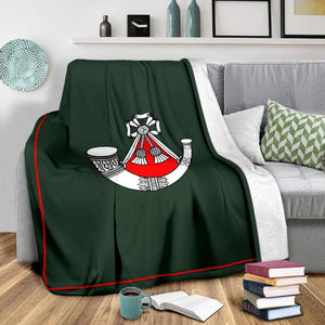 fleece blanket Light Infantry Fleece Blanket (1st Battalion)
