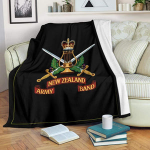 fleece blanket New Zealand Army Band Fleece Throw Blanket