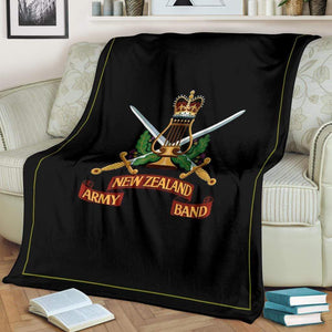 New Zealand Army Band Fleece Throw Blanket