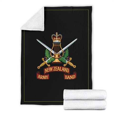 Image of fleece blanket New Zealand Army Band Fleece Throw Blanket