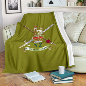 New Zealand Army Fleece Throw Blanket