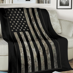 OCP Camouflage Fleece Throw Blanket