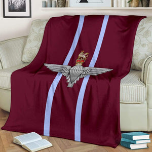 Parachute Regiment Fleece Blanket