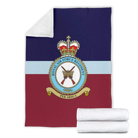 fleece blanket RAF Regiment Fleece Blanket