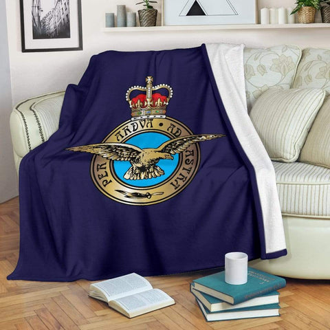 fleece blanket Royal Air Force Fleece Blanket