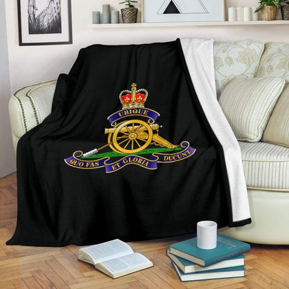 Royal Artillery Fleece Blanket