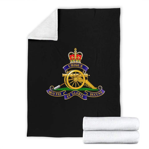 fleece blanket Royal Artillery Fleece Blanket