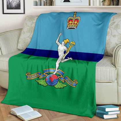 Royal Corps Of Signals Fleece Blanket