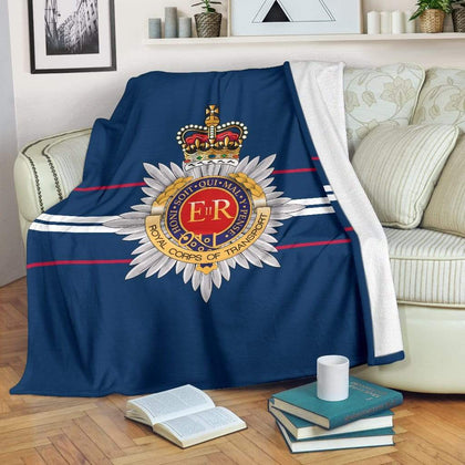 Royal Corps of Transport Fleece Blanket