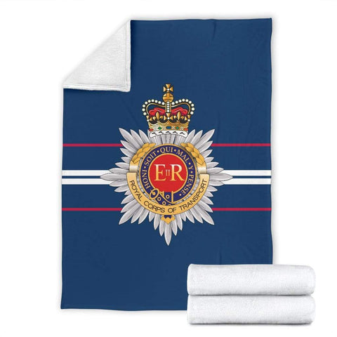 fleece blanket Royal Corps of Transport Fleece Blanket