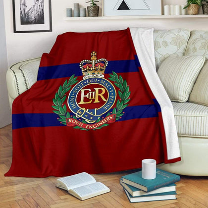 Royal Engineers Fleece Blanket