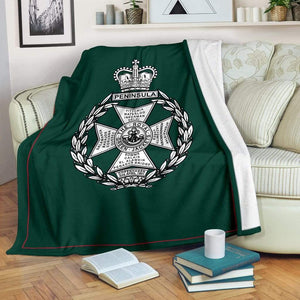 Royal Green Jackets Fleece Blanket