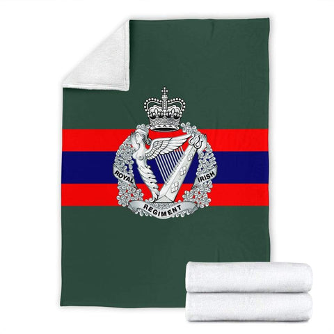 Image of fleece blanket Royal Irish Regiment Fleece Blanket