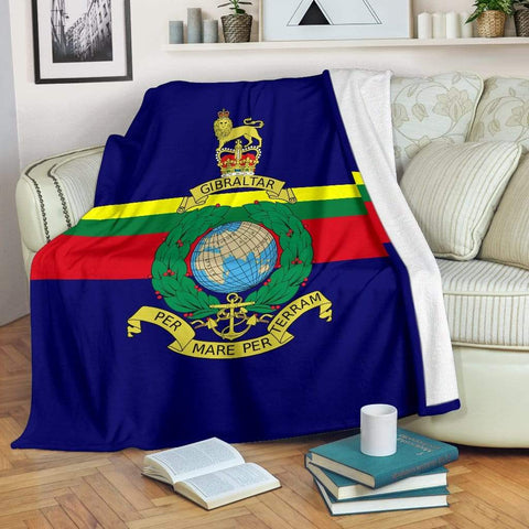 fleece blanket Royal Marine Fleece Blanket (Colour)