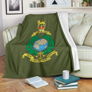 Royal Marine Fleece Blanket