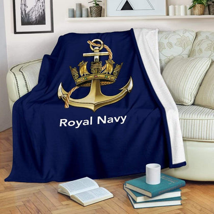 Royal Navy Traditional Fleece Blanket