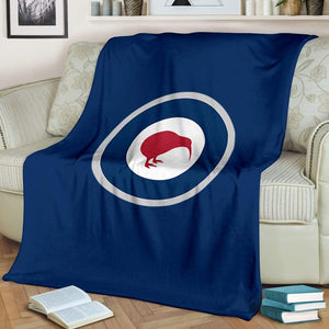Royal New Zealand Air Force Fleece Throw Blanket