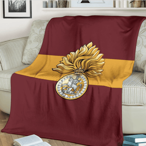 Royal Regiment of Fusiliers Fleece Blanket