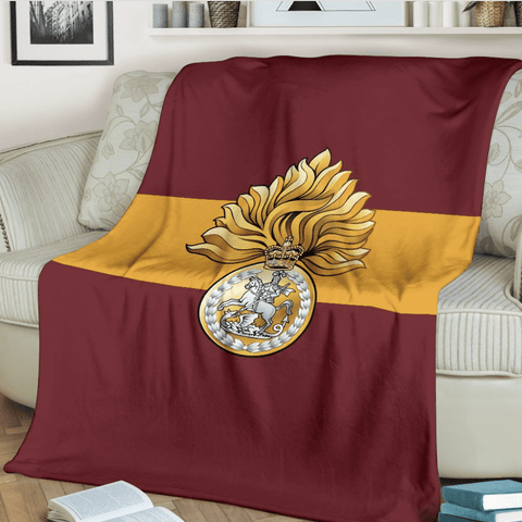 fleece blanket Royal Regiment of Fusiliers Fleece Blanket