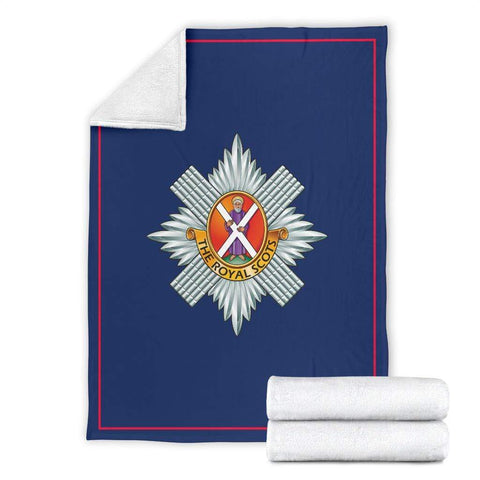 Image of fleece blanket Royal Scots Fleece Blanket