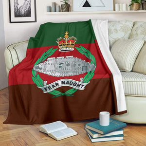 fleece blanket Royal Tank Regiment Fleece Blanket