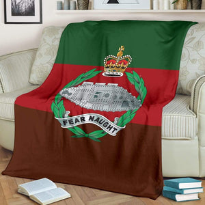 Royal Tank Regiment Fleece Blanket