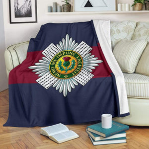 fleece blanket Scots Guards Fleece Blanket