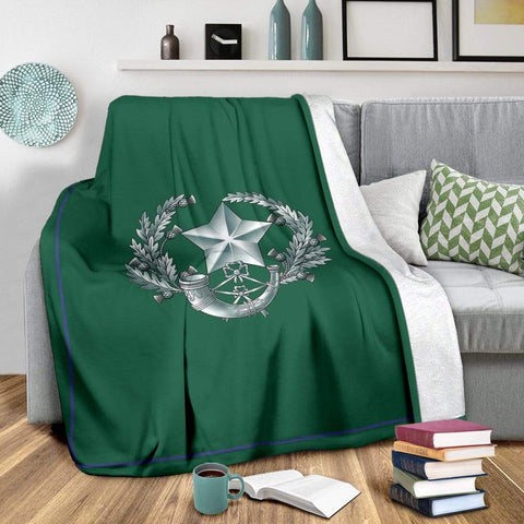 Image of fleece blanket The Cameronians Fleece Blanket