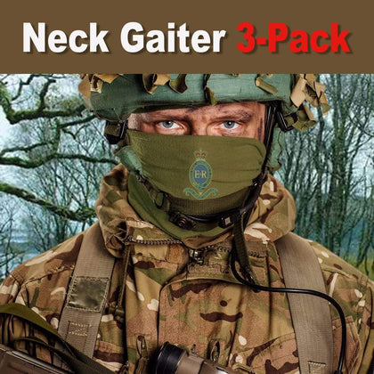 1 Reg't Royal Horse Artillery Neck Gaiter/Headover 3-Pack