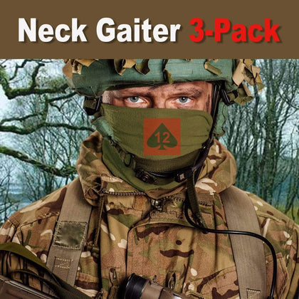12th Armoured Infantry Brigade Neck Gaiter/Headover 3-Pack