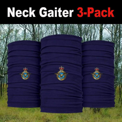 Royal Air Force Neck Gaiter/Headover 3-Pack