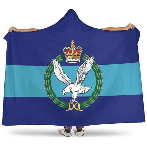 Image of premium hooded blanket Army Air Corps Premium Hooded Blanket