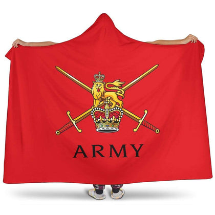 British Army Premium Hooded Blanket
