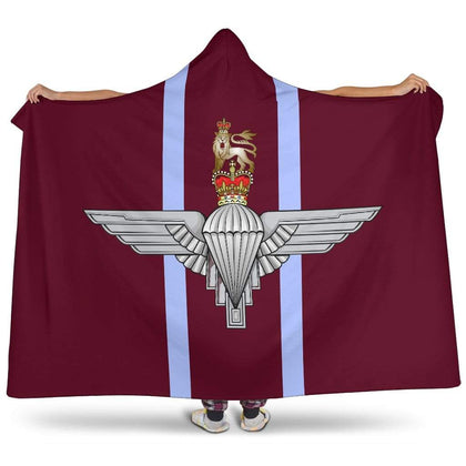 Parachute Regiment Premium Hooded Blanket