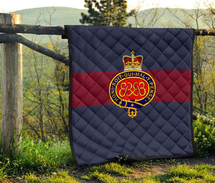 Grenadier Guards Quilted Blanket