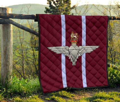 Parachute Regiment Quilted Blanket